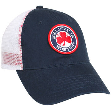 Sullys Mens Red Sox Believe In Boston Mesh Back Cap