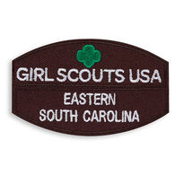 Girl Scouts Brownie Council Iron-On Patch