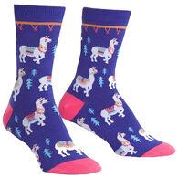 Sock It To Me Women's Como Te Llamas Crew Sock