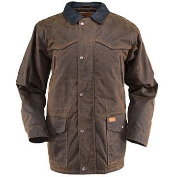 Outback Trading Mens Pathfinder Oilskin Jacket
