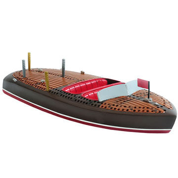 Outside Inside Classic Boat Cribbage Board