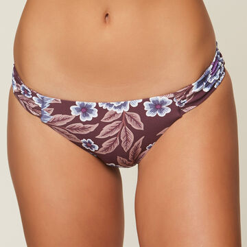 ONeill Womens Casey Shirred Tab Swim Bottom