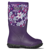 Bogs Girls' Range Print Insulated Rain Boot