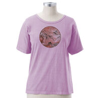 Earth Creations Women's Chinese Scene Short-Sleeve T-Shirt