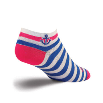 SockGuy Womens Anchors Aweigh Bicycling Sock