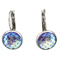 Eye Catching Jewelry Women's Mermaid Scale Earring