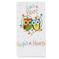 Kay Dee Designs Life's A Hoot Flour Sack Towel