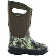 Bogs Boys' & Girls' Classic Camo Insulated Winter Boot