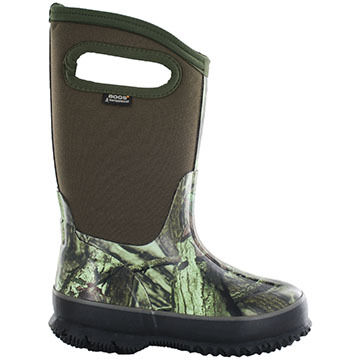 Bogs Boys & Girls Classic Camo Insulated Winter Boot