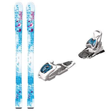 Volkl Children's Chica Alpine Ski w/ Jr. 3Motion 4.5 Binding - 13/14 Model