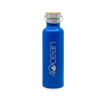4ocean Reusable 25 oz. Stainless Steel Vacuum Insulated Bottle