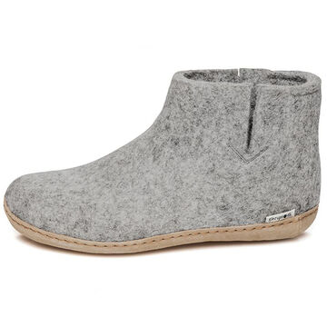 Glerups Unisex Slip On Felt Boot Slipper