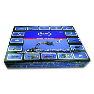 Wapsi Deluxe Fly Tying Starter Kit w/ DVD