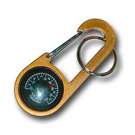 Bison Designs Clip-It Compass / Thermometer Keychain
