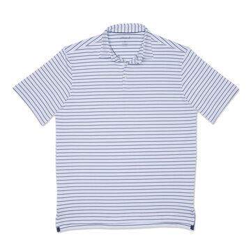 johnnie-O Mens Hyder Prep-formance Striped Polo Short-Sleeve Shirt