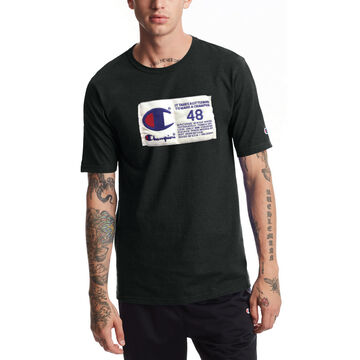Champion Mens Heritage Jock Tag Short-Sleeve T-Shirt