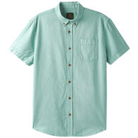 prAna Men's Broderick Texture Short-Sleeve Shirt
