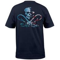 Salt Life Men's Ameriskull Pocket Short-Sleeve T-Shirt