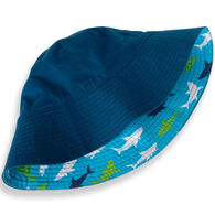 Hatley Boy's Great White Shark Reversible Sun Hat