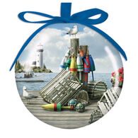 Cape Shore Spliced Ball Dockside Ornament