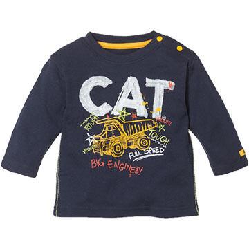 CAT Apparel Toddler Boys Full Speed Long-Sleeve T-Shirt