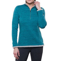 Kuhl Women's Alska 1/4-Zip Fleece Long-Sleeve Shirt