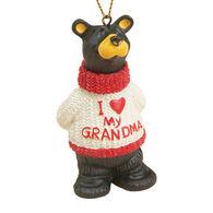 Big Sky Carvers I Love Grandma Ornament