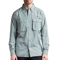 ExOfficio Men's Air Strip Micro Plaid Long-Sleeve Shirt