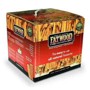 Wood Products 10-Lb. Box Fatwood Firestarter