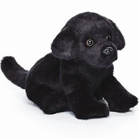 Nat & Jules Black Labrador Beanbag Stuffed Animal