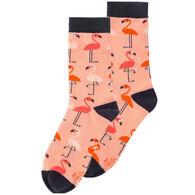 Karma Women's Flamingo Crew Sock