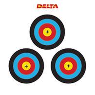 Delta McKenzie 3 Spot Vegas Paper Archery Target