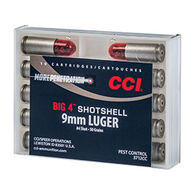 CCI Big 4 9mm Luger 45 Grain #4 Handgun Shotshell (10)