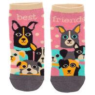 Karma Women's Dog Ankle Sock
