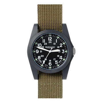 Bertucci A-3P Sportsman Vintage Field Nylon Band Watch