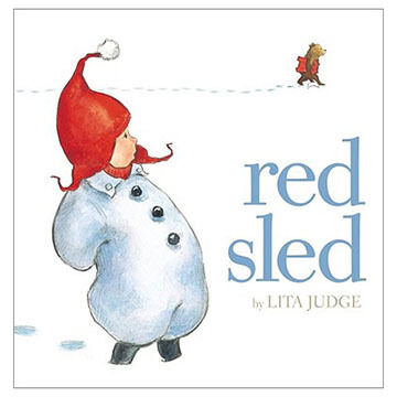 Red Sled By Lita Judge