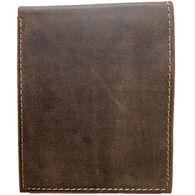 Deerfield Leathers Men's Crazy Horse Rustic Bi-Fold 8-Slot RFID Leather Wallet