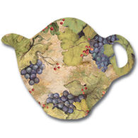Keller Charles Vintage Wine Teabag Holder