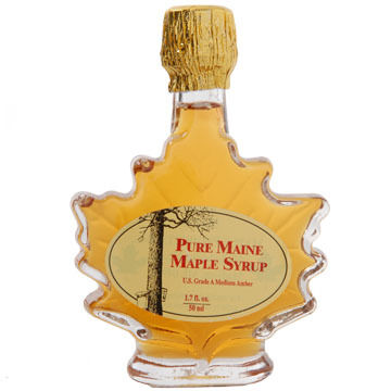 Maine Maple Maple Leaf Maple Syrup, 1.75 oz.