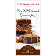 Stonewall Kitchen Sea Salt Caramel Brownie Mix, 17.5 oz.