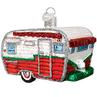 Old World Christmas Travel Trailer Ornament