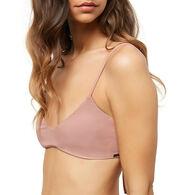 O'Neill Women's Salt Water Solids Bralette Bikini Top