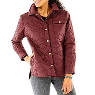 Carve Designs Women's Evans Quilted Shacket
