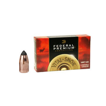 "Federal Premium Vital-Shok 20 GA 2-3/4"" 5/8 oz. Trophy Copper Sabot Slug Ammo (5)"