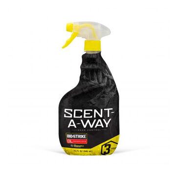 Hunters Specialties Scent-A-Way Bio-Strike Odorless Spray - 32 oz.