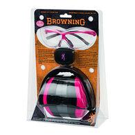 Browning Women's Range Kit II for Her Ear & Eye Protection