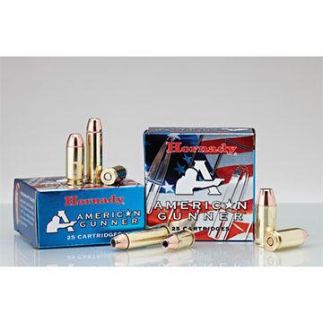 Hornady American Gunner 9mm +P Luger 124 Grain XTP Handgun Ammo (25)