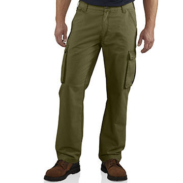 Carhartt Mens Big & Tall Rugged Cargo Pant Relaxed-Fit Pant