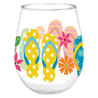 Cape Shore Maine Flip Flop Wine Tumbler