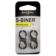 Nite Ize S-Biner MicroLock Carabiner - 2 Pk.